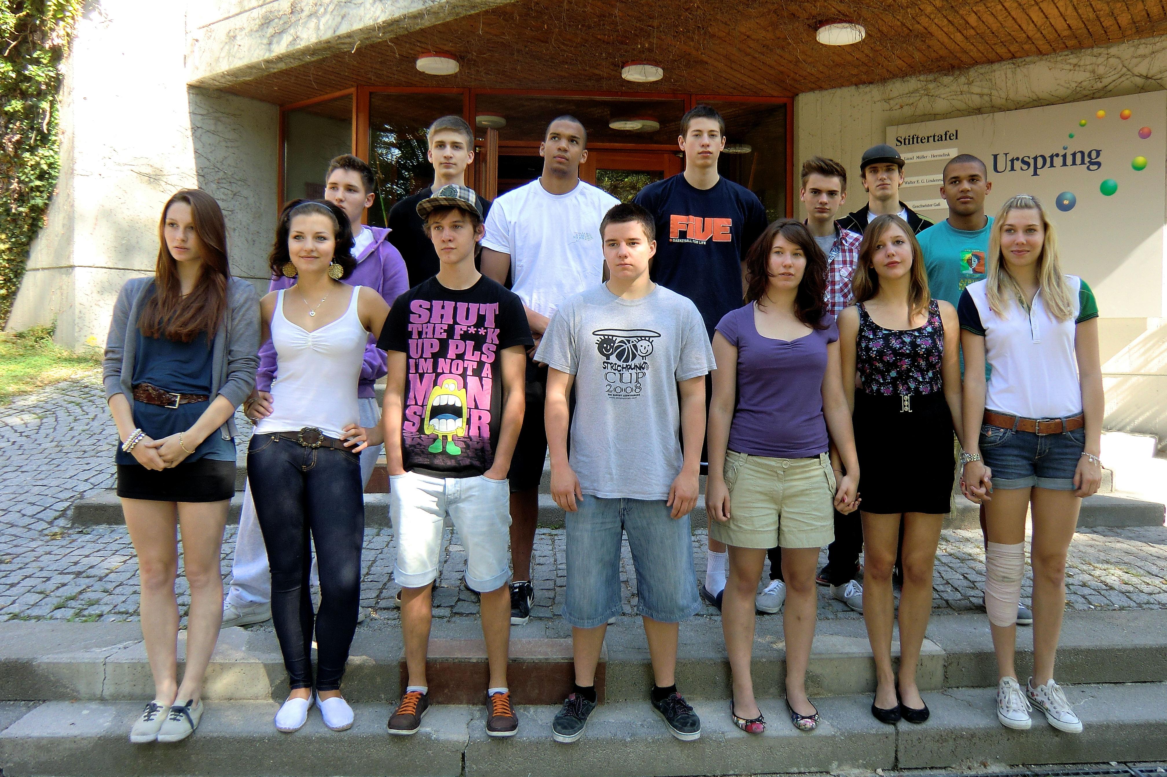 2010 >> Urspringschule - Unsere Klassen